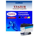 T3AZUR - Cartouche compatible Brother LC3237 (LC-3237C) XL Cyan