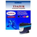 T3AZUR - Cartouche compatible Brother LC3239 (LC-3239C) XL Cyan
