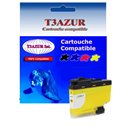 T3AZUR - Cartouche compatible Brother LC3239 (LC-3239Y) XL Jaune